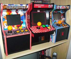 Mini Arcade Cabinets for Your Neo Geo Fix