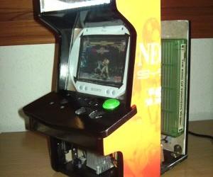 Mini Neo Geo Arcade Cabinet