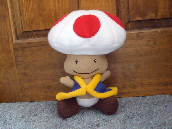 plush toad nintendo