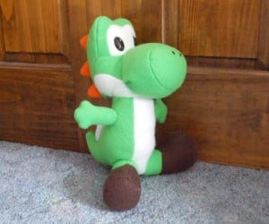 Plush Yoshi is Better Suited for Hugging Than Riding