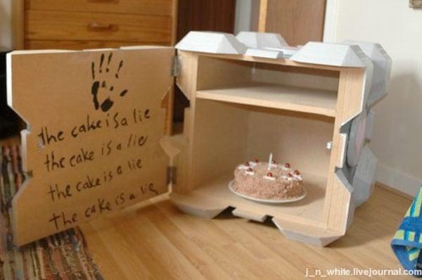 portal crafts furniture companion cube