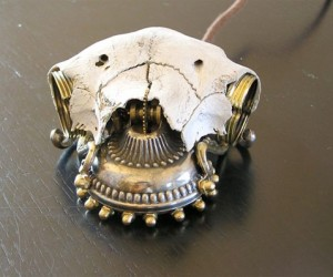 Steampunk Skull Mouse for Those Who Are Creepy Yet Classy
