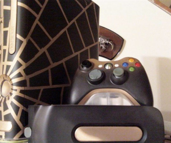 An Xbox 360 for a Black Widow