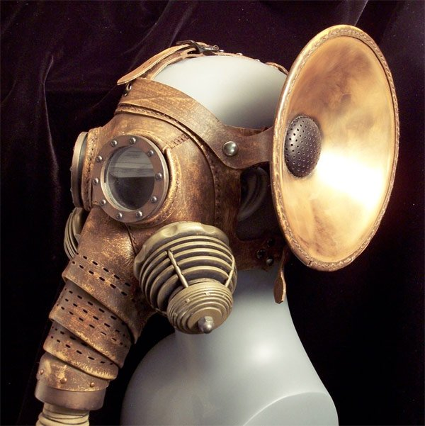 steampunk elephant mask