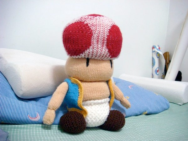 knit toad nintendo