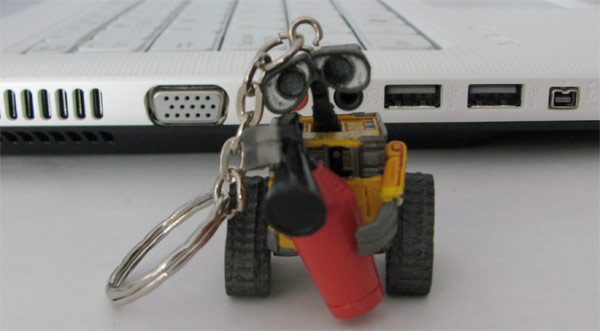 wall-e usb thumb drive