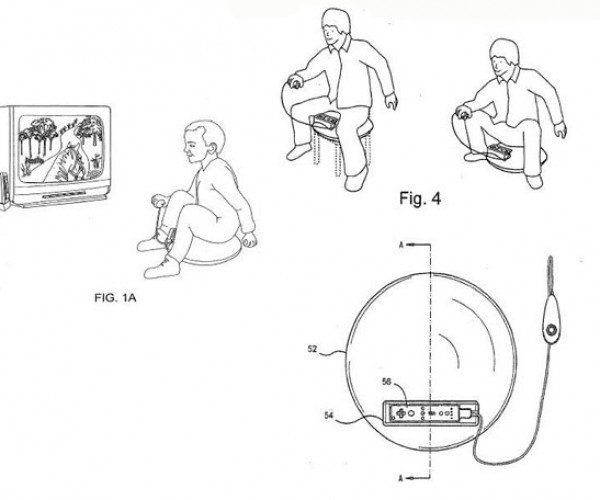 Just in Case Playing Wii Wasn'T Embarassing Enough: Inflatable Saddle Controller Patent