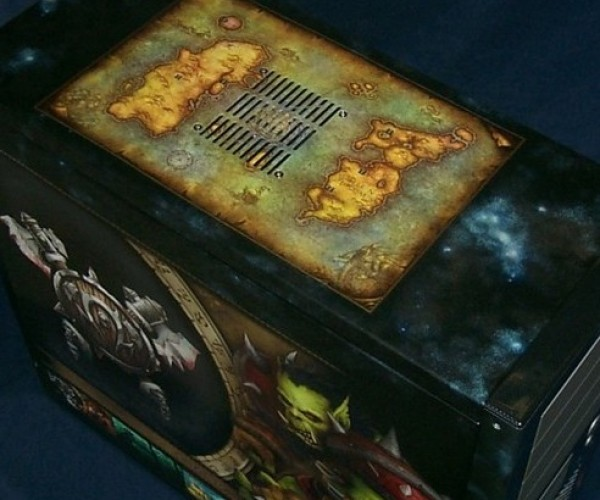 World of Warcraft Pc Casemod Art