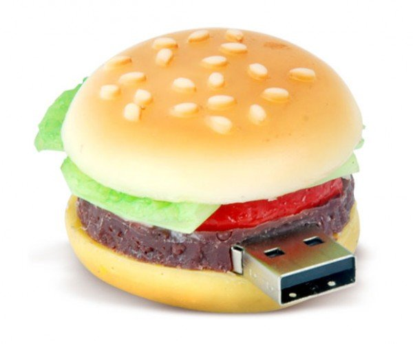 Fast Food USB Drives: I Can has Cheeseburger and Fries With That