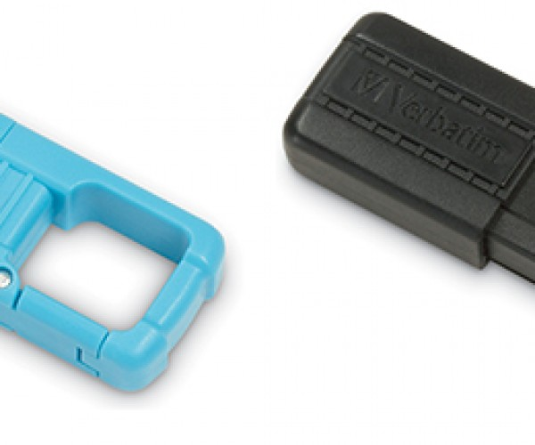 Verbatim Tuff Clip USB Flash Drive: You'll have a Hard Time Losing This One