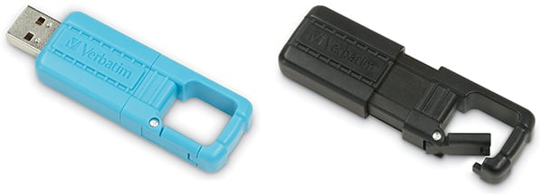 varbatim tuff clip usb drives