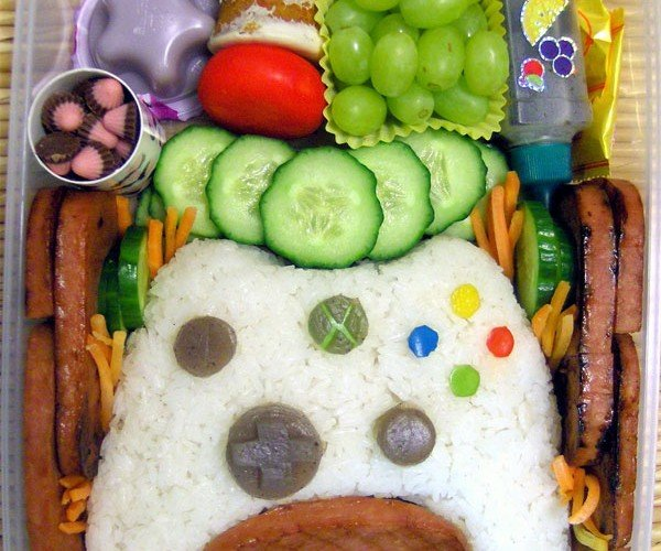 Xbox 360 Controller Bento Box: No Red Rings of Rice Here