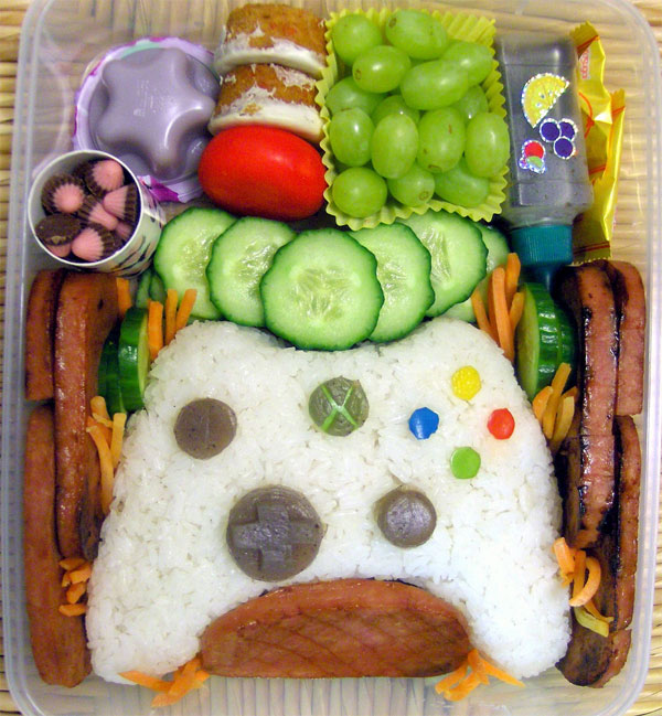Cooking Games For Xbox 360 : Xbox controller bento box no red rings of rice here