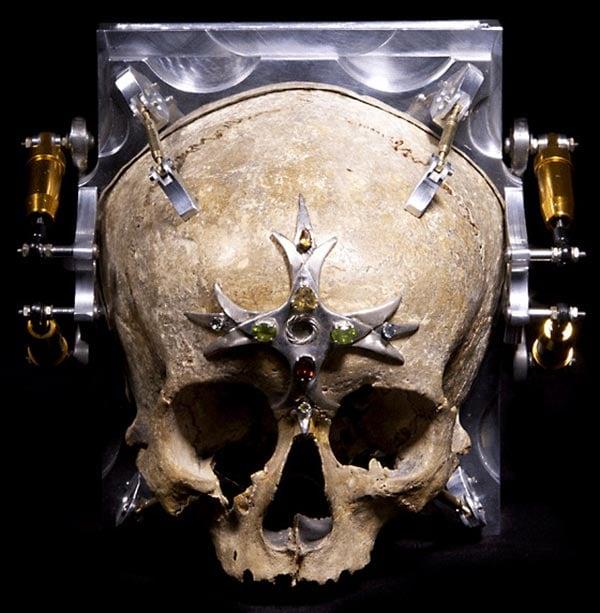 3rd eye skull camera