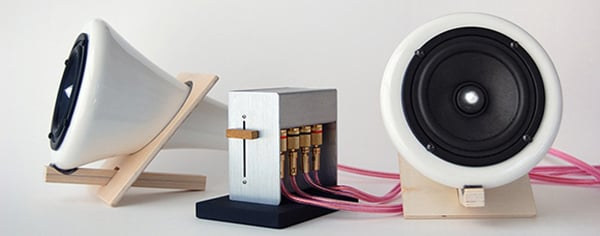 Joey Roth porcelain speakers 1