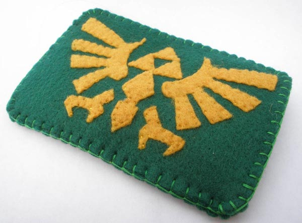 Zelda iPhone Case, Angle View