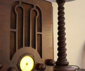 Antique Radio Turned Into an Atom Pc: It Wooden Play Crysis