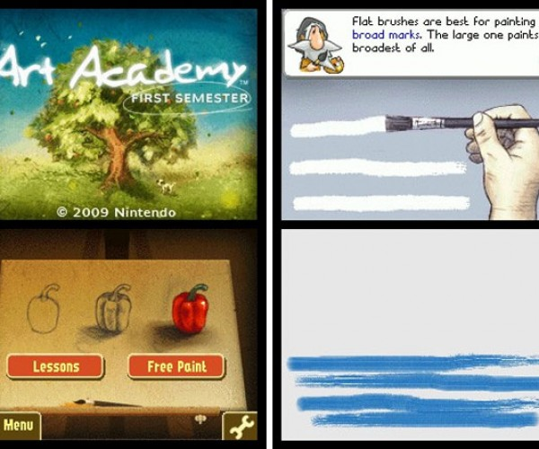 Art Academy: Learn to Paint on Your Nintendo Dsi