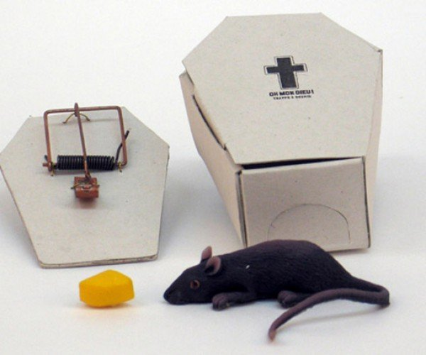 Coffin-Shaped Mousetrap Lets You Show Respect for the Animal Whose Neck You Just Broke