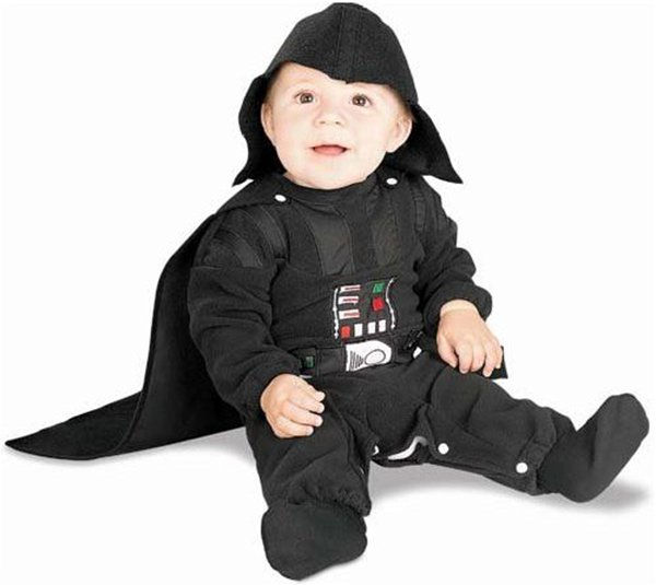 star wars baby costumes force awwwwww technabob. Black Bedroom Furniture Sets. Home Design Ideas