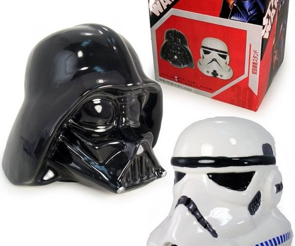 Darth Vader and Stormtrooper Incense Holders: Smell the Dark Side of the Force