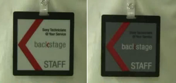 e ink name badge