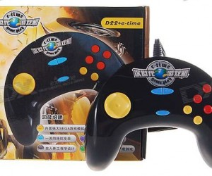 E-Time Controller Plays Sega Genesis/Mega Drive Game Roms
