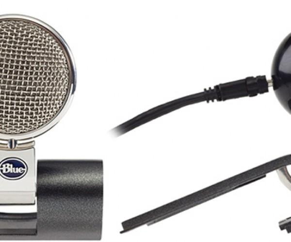 Blue Microphones' Eyeball Webcam'S Eyeball Hides Behind Its Ears