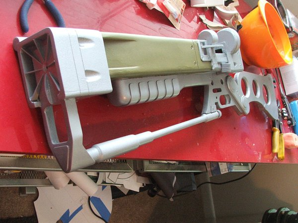 AER9 Laser Rifle, Painted
