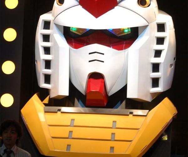Giant Gundam Statue Loses Its Head, Still Keeps Its Cool