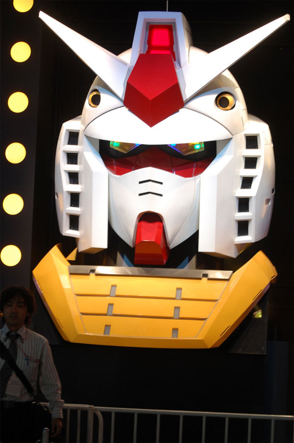 giant gundam head tgs 2009