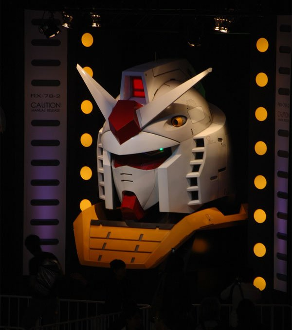 giant gundam head tgs 2009 2