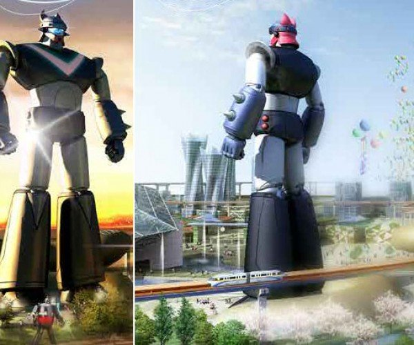 Giant Robot Taekwon V Statue Will be Six Times as Large as Giant Gundam Statue