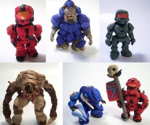 More Like Claylo: Surprisingly Adorable Halo Figures