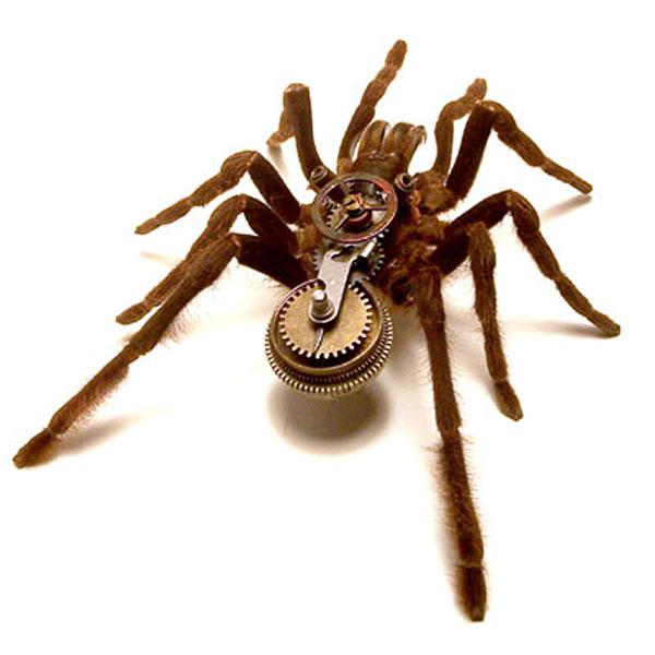 Insect_Lab_Steampunk_Tarantula