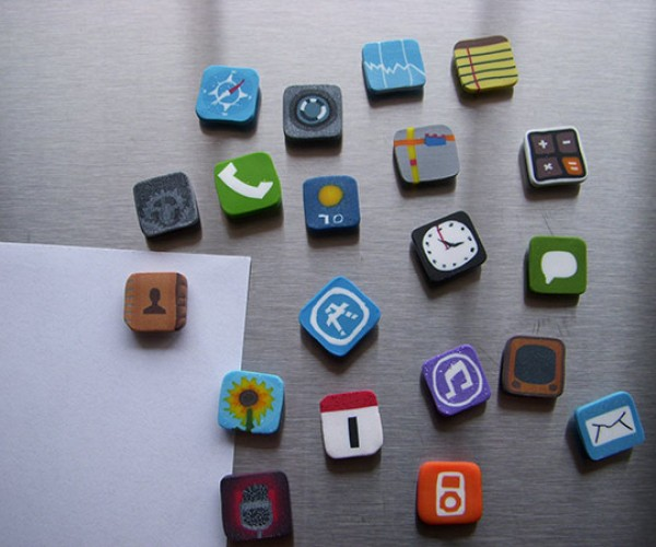 IPhone Icons Fridge Magnets Don'T Require an at&T Account