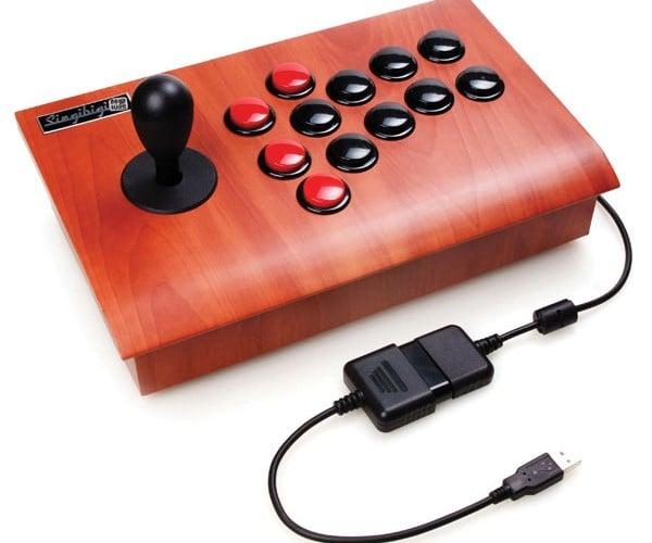 Joytron Singibigi Joystick Gives Your PS3 Some Wood