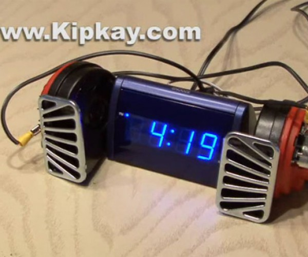 World's Loudest Alarm Clock Will Definitely Wake You Up – and Make Your Ears Bleed
