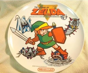 $15,000 1989 Collector'S Item Legend of Zelda… Plate. as in the One You Put Food on.