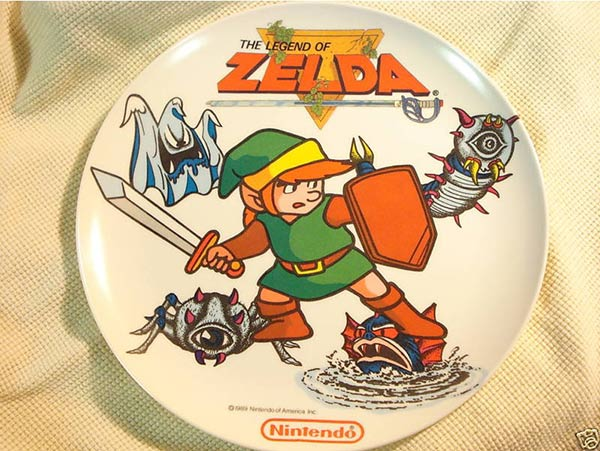 15000 1989 Collectors Item Legend Of Zelda Plate As In The
