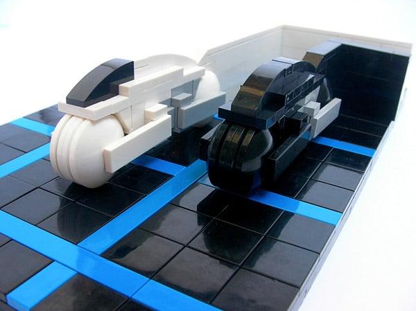 lego tron lightcycles 2