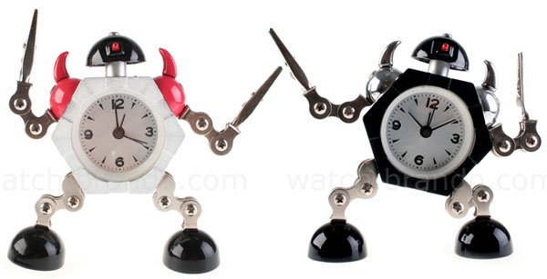 little robot clocks