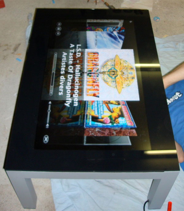 the real mac tablet is a coffee table [casemod] - technabob