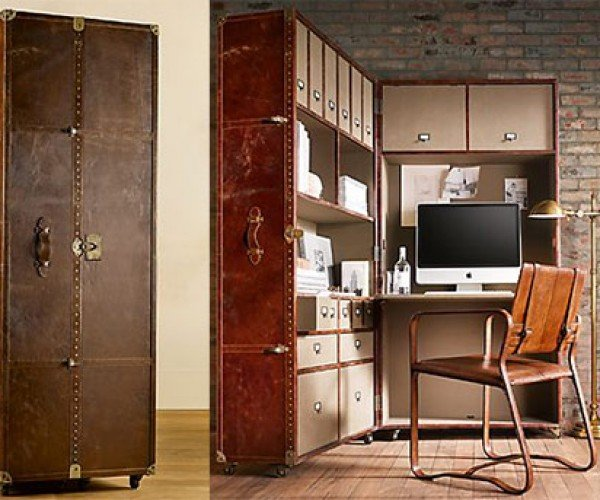 Mayfair Steamer Secretary Trunk: One Classy Office on Wheels