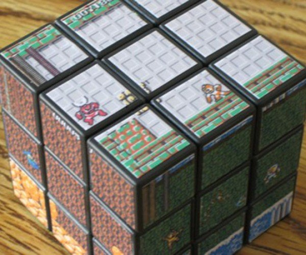 Mega Man Boss Battle Rubik's Cube: Still Easier to Finish Than the Video Game