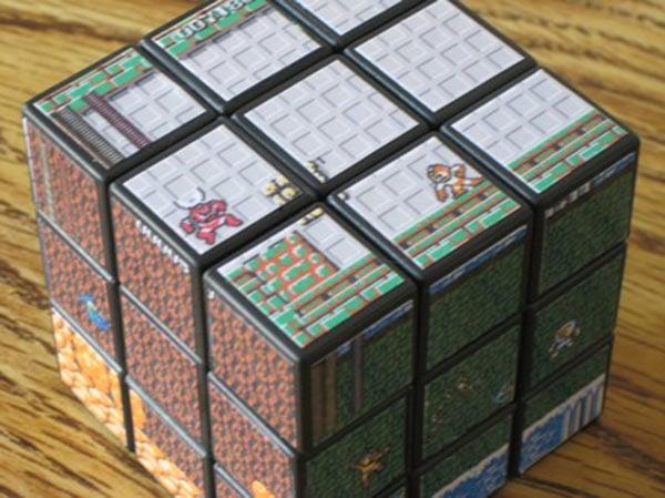 mega man rubiks cube