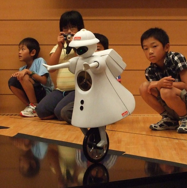 murata unicycle bot