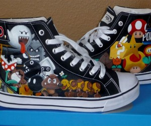 Super Mario Sneakers Kick Some Serious Ass