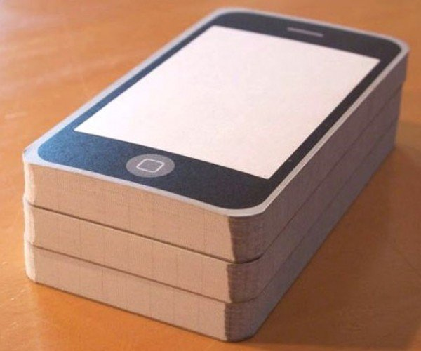 Notepod Paper iPhone Notepads: No 2 Year Contract Required