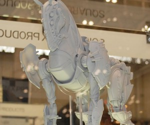 Horsey-Version of 'Odin' Summon Shows Up at Japanese Toy Show